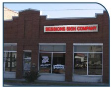Sessions Signs storefront